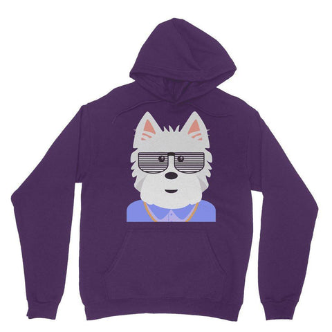 Image of West.I.am Hoodie Apparel kite.ly XS Purple