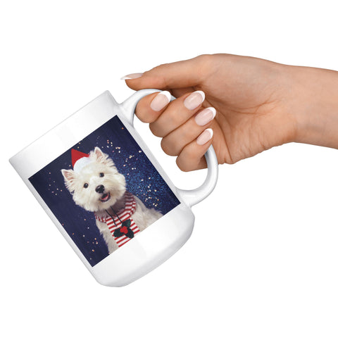 Image of Christmas Westie Mug Drinkware teelaunch