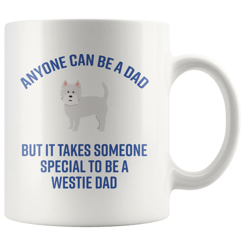 Image of Special Westie Dad Mug Drinkware teelaunch 11oz Mug
