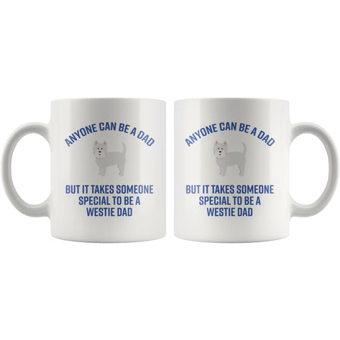 Image of Special Westie Dad Mug Drinkware teelaunch