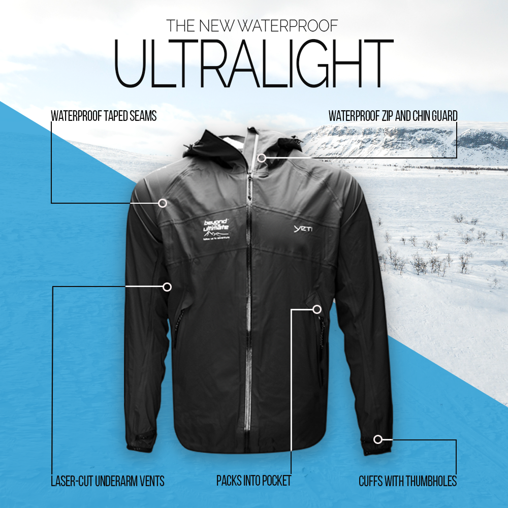 Yeti x BTU - Men's Ultralight 2.5-layer Jacket