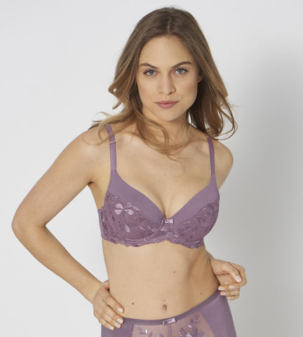 Triumph SEXY ANGEL SPOTLIGHT WHU - Push-up bh - lila 6400