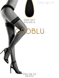 OROBLU Bas Chic up 15 den panty