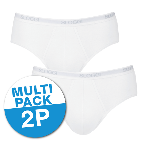 SLOGGI MEN BASIC Heren midi 2 PACK