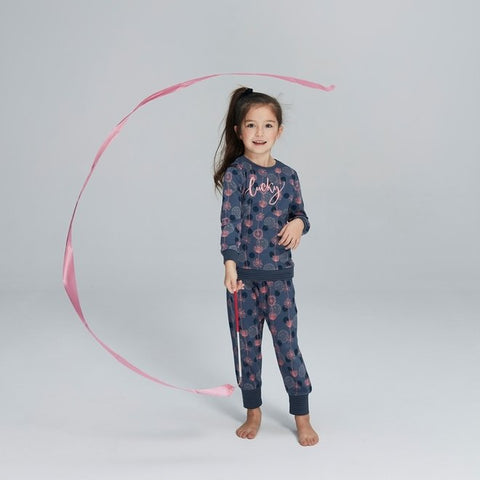 Meisjes Pyjama Lounge Set Fly Away