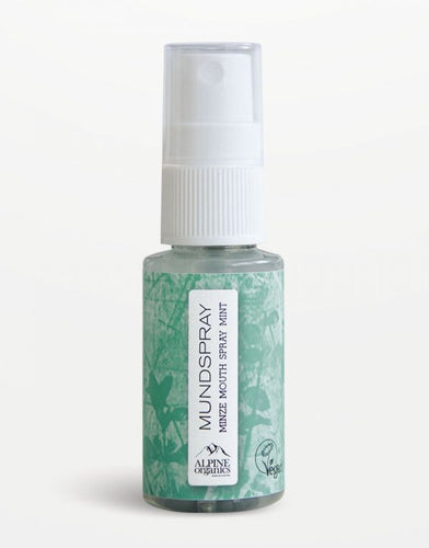 Alpine Organics - Mundspray Minze 30 ml - Schweitzer Onlineshop