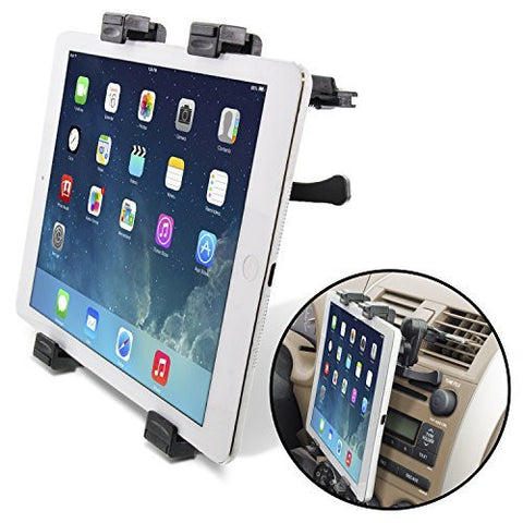 Universal Tablet Air Vent Car Mount Holder with 360 Rotating swivel for all Tablets