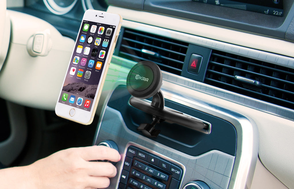 Universal Powerful Magnetic Cd Slot Car Mount Okra Products