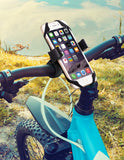 Bike & Motorcycle Smartphone Mount Holder, Universal Bicycle for Smartphones