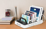 7-Port Hub USB Desktop Universal Charging Station