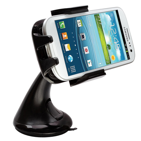 Intek I-Touch Button Car Windshield & Dashboard Mount