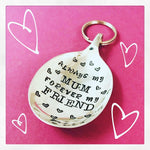 Always my Mum keyring - Spoon Keyring - Handmade