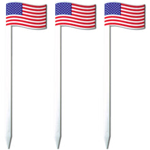 "4.5"" American Flag Cocktail & Sandwich Picks/Skewers, Case of 2,500"