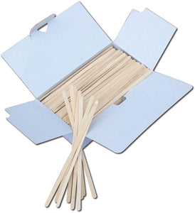 "Royer 7.5"" Birch Wood Coffee Stirrers, 500/box, Eco-friendly"