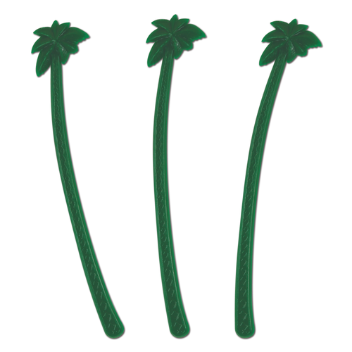 Green Palm Tree Stirs