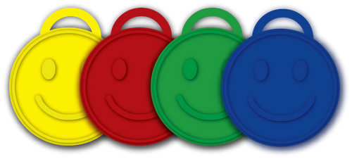Balloon Weights | Smiley Face - 15 gram