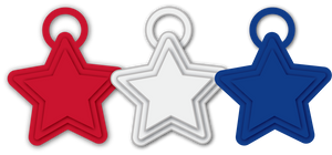 Balloon Weights | Star - 8 gram