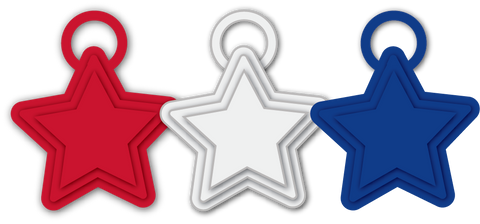 Balloon Weights | Star - 15 gram