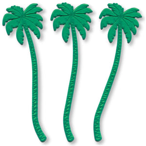 "7"" Palm Tree Swizzle Stick & Stirrer"