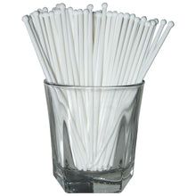 White Round Swizzle Sticks