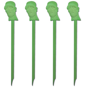 "6"" Plastic Halloween, Zombie Swizzle Sticks, Case of 5,000"
