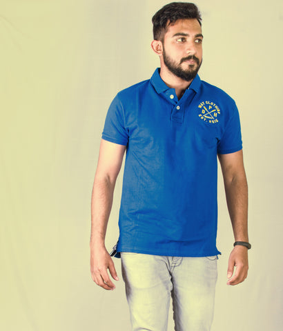 Identity short sleeve Royal polo shirt