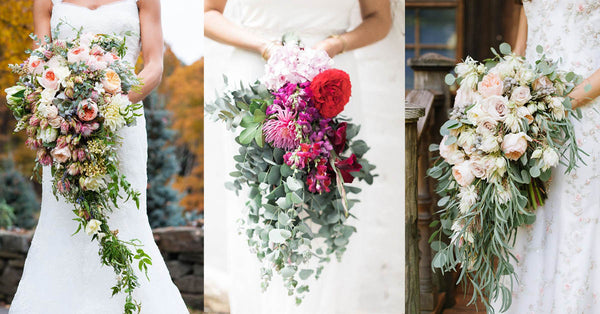 30 Unique Wedding Cascading Bouquet Designs
