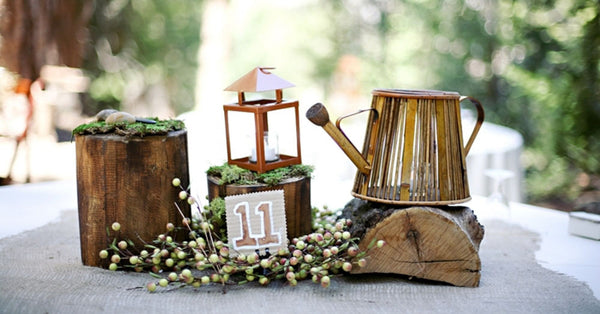 15 Ways to Design Non-Floral Wedding Centerpieces