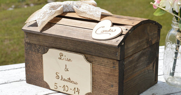 Think Out of the Box for Your Wedding Card Box