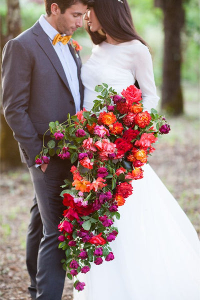 bright and bold bouquet