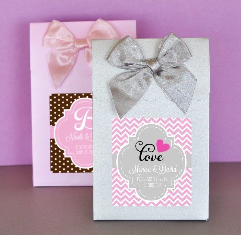 Candy Bags Personalized Wedding Candy Favor Bags Set Of 12