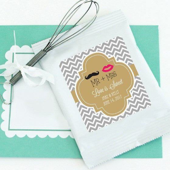Chocolate Wedding Favors.Personalized Hot Chocolate Favors