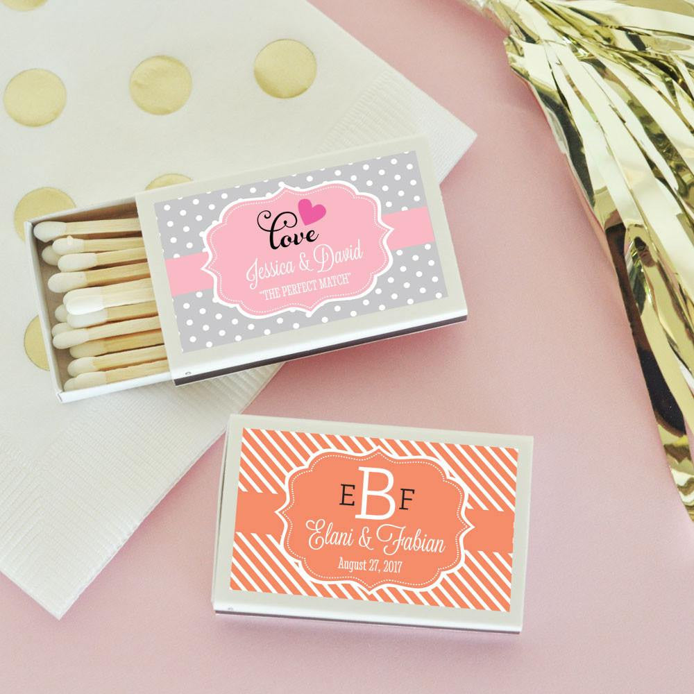 Wedding Personalized Matchbooks wedding matches personalized matchbooks favors matches