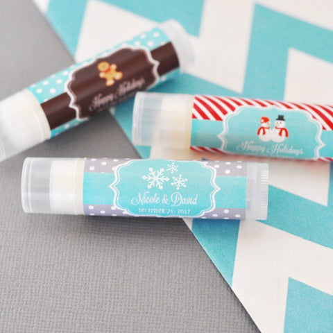 Winter Themed Wedding Party Favors