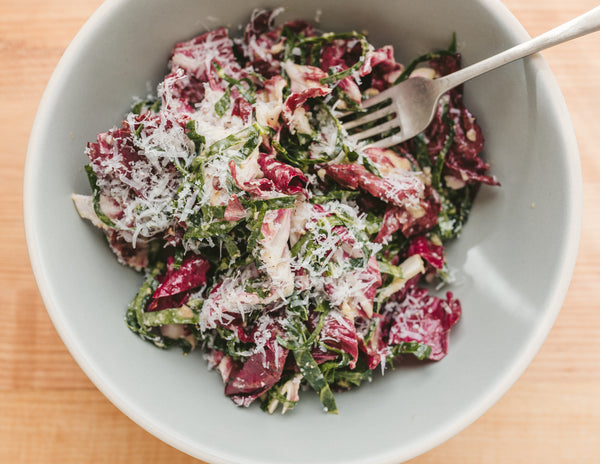 Radicchio Salad with Anchovy Dressing