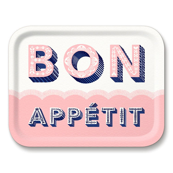 Bon Appétit Tray - The Power Chic