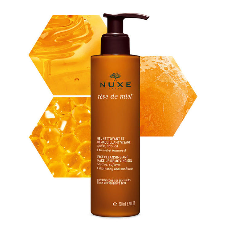 Nuxe Reve De Miel Gel Nettoyant Visage Face Cleanser - The Power Chic