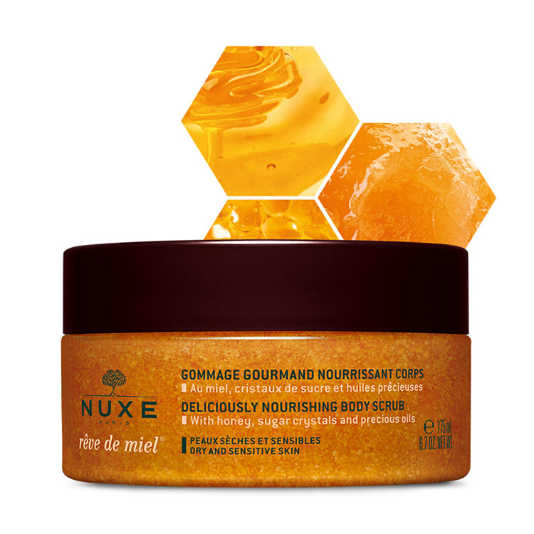 Nuxe Reve De Miel Gommage Gourmand Nourrissant Corps Scrub - The Power Chic