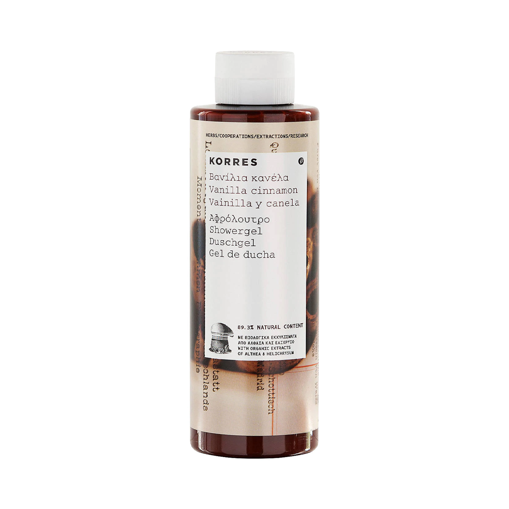 Korres Shower Gel Vanilla Cinnamon