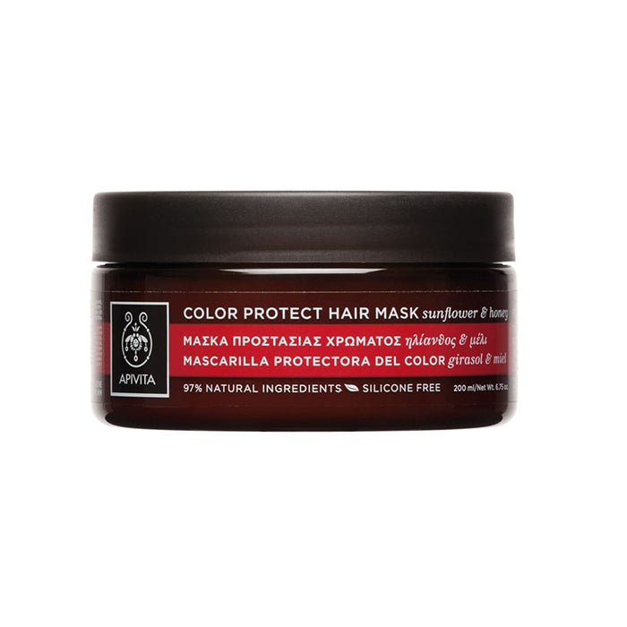 Apivita Color Protect Hair Mask With Sunflower And Honey 200ml