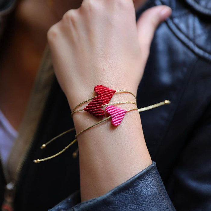 Heart String Bracelets - The Power Chic