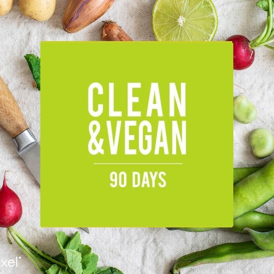 CLEAN & VEGAN 90 DAYS eatgoodshop