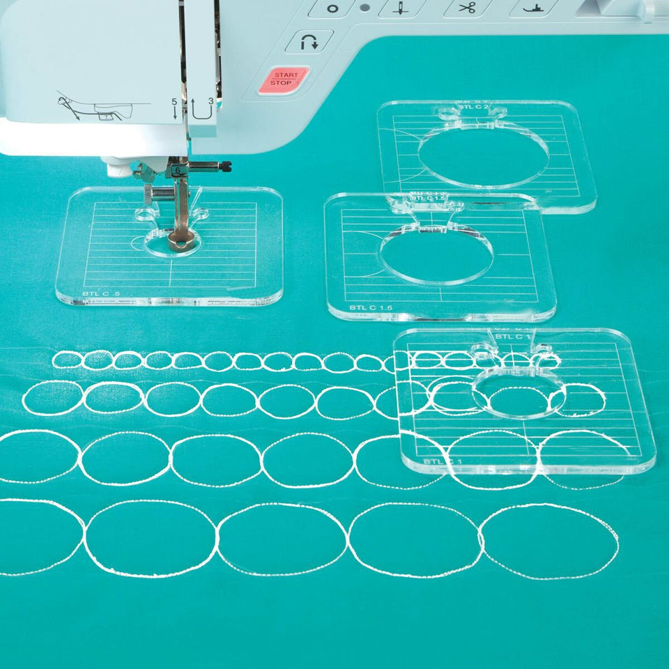 Shapeshare- 6 Piece Quilting Template Set