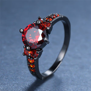 Crystal Ruby Ring
