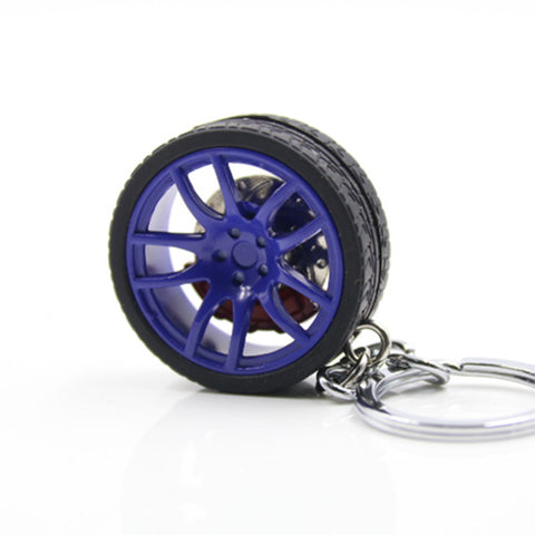 Car Wheel Key chain