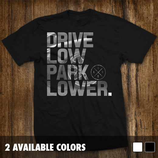 Drive Low Park Lower Stacked T-shirt Clearance