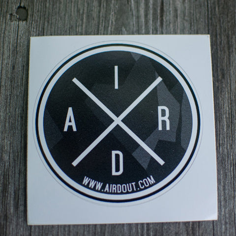 Airdout Aird Crossed Sticker