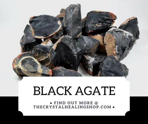 Black Agate Crystal Healing Properties