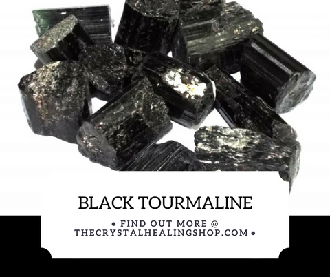 Black Tourmaline Crystal Healing Properties