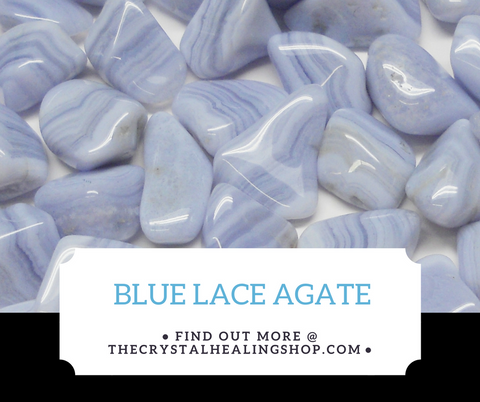 Blue Lace Agate Crystal Healing Properties